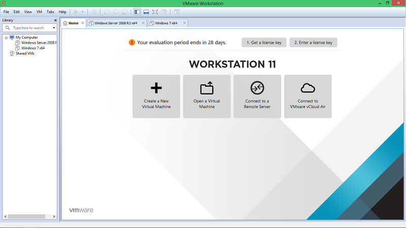 vmware workstation установка windows